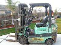 FORKLIFT READY TO GO CALL  Location: LIVINGSTON