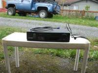Mitsubishi VCR in good conditions. No remote. $20.00