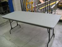 I have 68 mity lite folding tables for sale. Take one