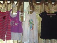 TODDLER GIRLS TOPS ARE AS FOLLOWS: 1) Green/Blue Long