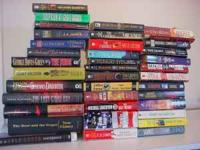 Mixed lot of 37 books Novels , fiction , suspence,