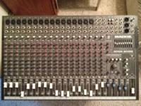Mackie CFX20 Compact Integrated Live Sound Mixer. 20