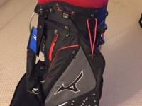 Brand new Mizuno golf bag with individual slots for