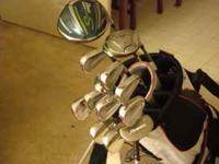 I am looking to sell my golf clubs. The driver and 3
