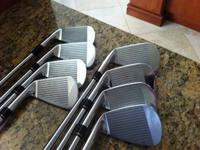 Mizuno MP53 irons, 3-PW. These clubs sell new for over