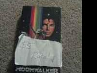 MJ moonwalker on VHS. This is rare and they go for