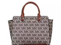 Brand New MK Selma Logo Monogram and plain color