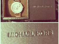 Mk watch for sale Like new With receipt from Joe Brand