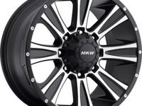 "MKW WHEELS SPECIAL $599.00 ""FREE"" ""CHROME INSTALL KIT"""