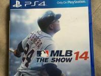 MLB The Show 14 for PS4. $40