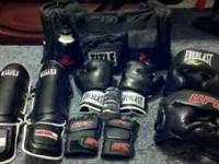 Everything you need for mma. All this gear is only been