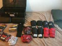 I have some MMA gear I don't use anymore and I don't