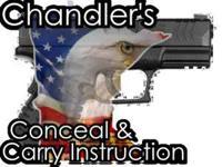 MN Handgun Carry Permit Class held in Rice/Pierz area