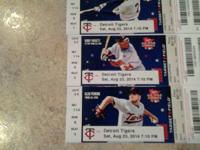 Need to offer !!! Selling 3 tickets to the MN Twins