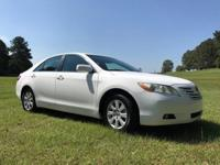 MNJ Must Sell 2008 Toyota Camry White Sedan 2.4L I4