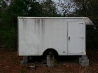 fiberglass truck body for sale. would make a great hunt