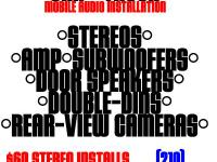MOBILE CAR / TRUCK AUDIO INSTALLATION (+$5 on any