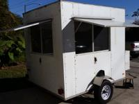 For sale is a V-Nose Concession Trailer built in 2009