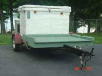 Cooler on Trailer or Mobile Cooler Attention Hunters,