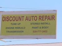 DISCOUNT AUTO REPAIR & INSTALL  3227 E. LINCOLN ST.