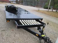 Mobile Extreme In-Line 4-Way Jump w/Trailer includes;