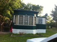 I have for sale a mobile home which my wife and I have