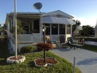 Mobile home for sale completely furnished. (20 x 33,