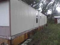 We have a 1981 3 bedroom mobile home for sale. it is