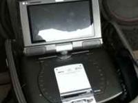 "2 monitor, 7"" screens, DVD player perfect for road"
