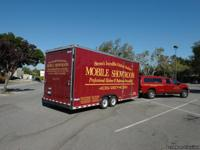 Mobile showroom for kitchen and bath remodeling