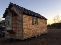**Quaint Mobile Home** Cedar walls and siding. 1 twin