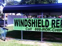 Mobile Windshield Repair & Replacement  Rock Chip
