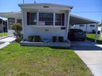 Furnished1 bedroom 1 bath mobile home for sale in