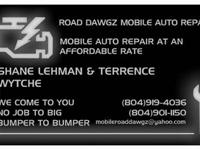 we are roadway dawgz mobile automobile repair service