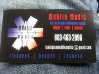 Mobile medic We come to you  Home, office, roadside