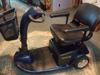 Pre-owned, excellent condition. This scooter has