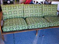 Great danish-made, 60's style sofa. New cushions