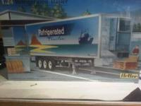1/24 scale heller refridgerated box trailer, list