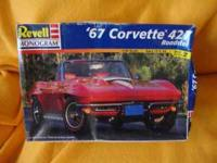 2) Model cars complete kits about 5-6 years old.... 67'