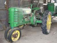 Model H John Deere. $4000 obo. Call . Location: OBO