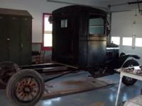 We are selling our 80% restored Model TT truck. It has