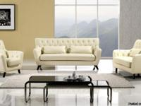 American Eagle Contemporary Ivory 3 PCs. of Sectional