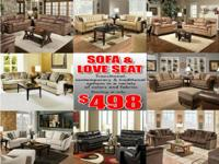 MODERN SERTA SOFAS FROM JUST $198 !! COUCH AND LOVESEAT