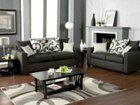 The modern appearance of this sectional and the