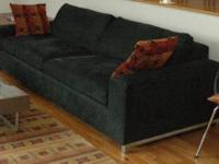 This beautiful, low profile, deep sofa is the ultimate