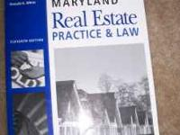 MD Real Estate Licensing Books. 4 Total. $20 for all. I