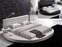 Modern Platform Bed - Round Design Price: $1569. Modern
