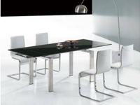 Modern Brand New T011 Saturn Contemporary Glass table