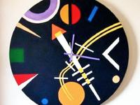 "Type: DecorType: ClocksModern Wall Clock. ""NIGHT SKY""."