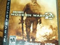 Modern warfare 2 for PS3.